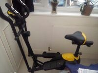 Everlast Cross Trainer with additional Seat /Bike option - Exc Condition