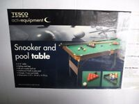 "4' 6"" Pool and Snooker Table"