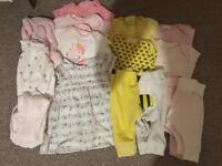 Baby girl newborn bundle