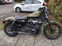 Harley-Davidson XL 883N Iron Sportster + 2016 Model + Stage 1 Tune + Screamin Eagle + Vance & Hines