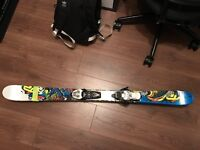 Kids ski's 129cm and in good condition. Great for snow parks and snow dome