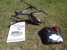 Radio controlled model helicopter