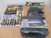 hand tools and drill bit set