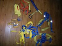 Yacht Safety Harnesses/lines - 8 in all