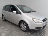 2007(07)FORD C-MAX 2.0 GHIA AUTOMATIC MET SILVER,NICE SPEC,CLEAN CAR,GREAT VALUE