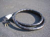 ARMORED BIKE LOCK (FOR MOTOR OR PEDAL BIKE)