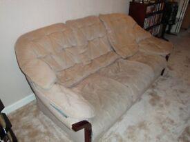 2 DFS Samantha 3 Seater Sofa's, 1 Samantha Armchair, 1 Samantha Stool