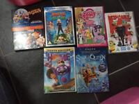 Collection of Children's Films, some Dreamworks