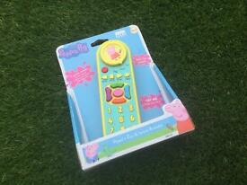 Inspiration Works Peppa's Zap and Learn Remote.