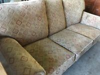 Three seater very comfy sofa ..FREE LOCAL DELIVERY