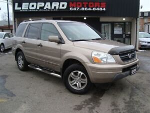 2004 Honda Pilot EX-L,Leather,Sunroof,8Passenger*No Accident*