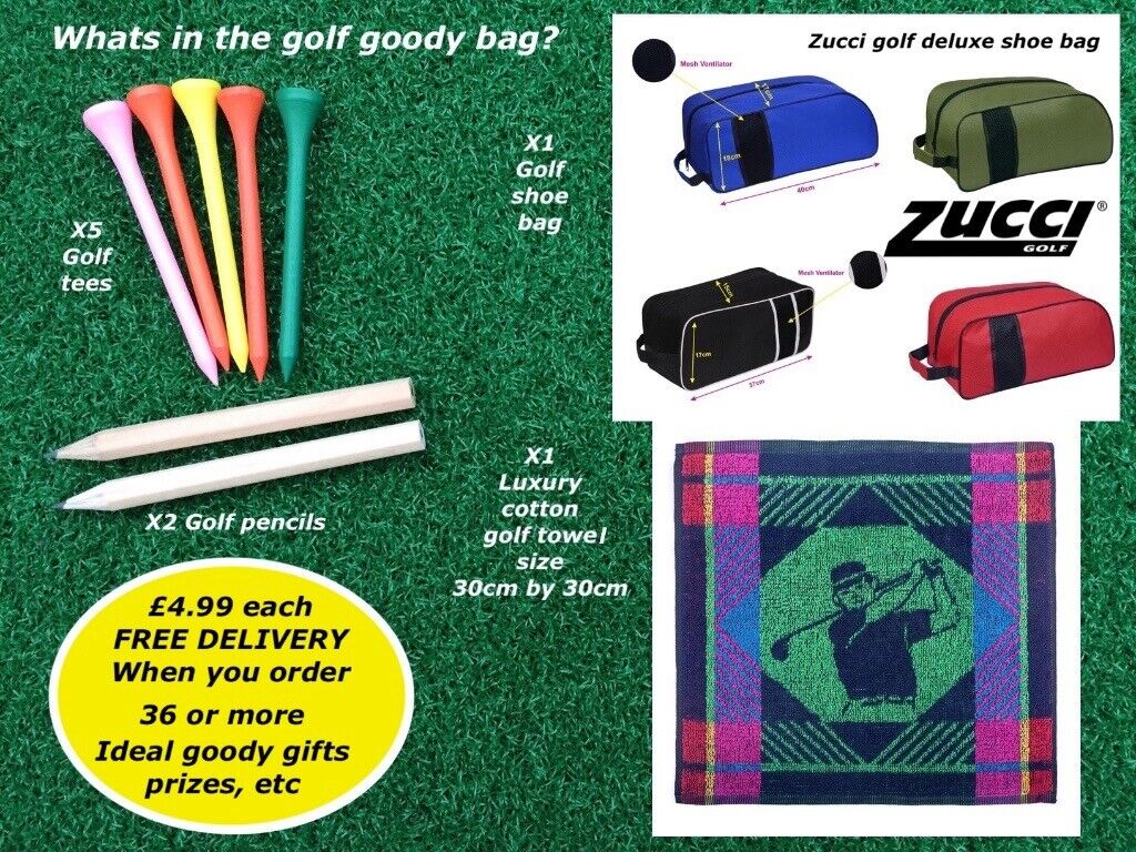 Golfers goody gift bag, ideal for golf day goody gift and prizes | in  Stretford, Manchester | Gumtree