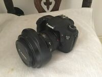 Canon 7D with canon 17-40mm lens - v good condition