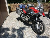 2009 BMW GS1200 adventure, low mileage, superb condition, great spec