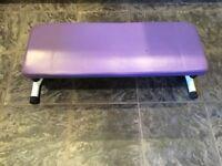 Step box, foldable step