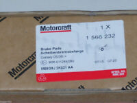 BRAND NEW GENUINE FORD MONDEO MK4 FRONT BRAKE PADS 2007 LOOK GALAXY 2006 1566232