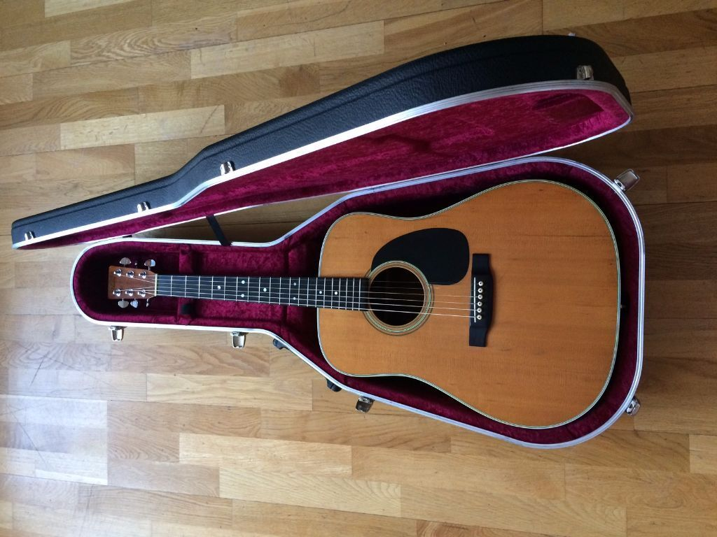 vintage martin d28 1974 rare acoustic guitar for sale 1290 ono in plymouth devon gumtree. Black Bedroom Furniture Sets. Home Design Ideas