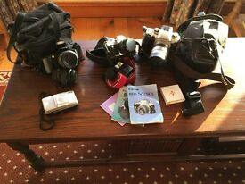 Canon 35mm (Selection of cameras for sale)
