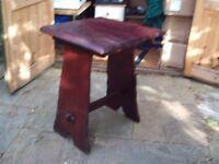 Garden / patio table - dark wood