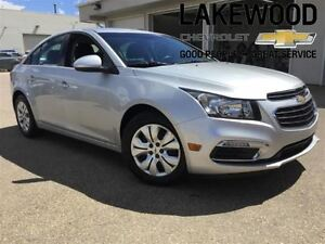2015 Chevrolet Cruze LT 1LT (Bluetooth, Powered Options)