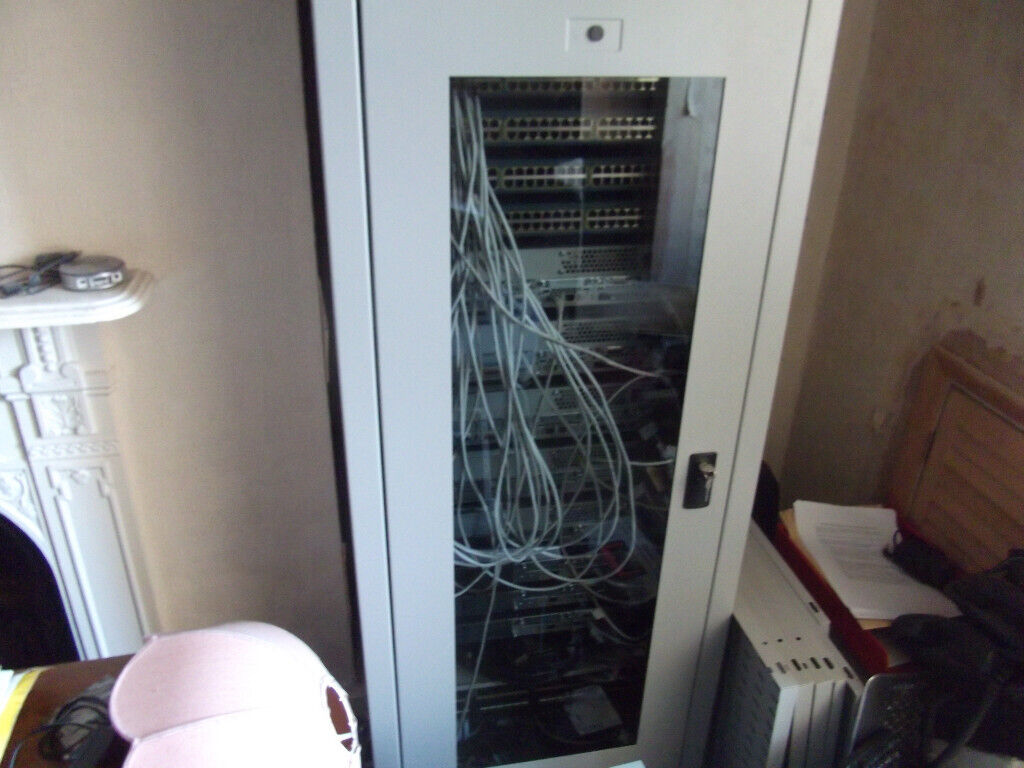 Cisco CCNA/CCNP Home Lab with Routers, Switches and Data Cabinet - WILL  SPLIT | in Kingston, London | Gumtree