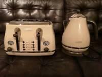 Delonghi Vintage Icona kettle & toaster