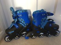 Pre Loved kids blue roller blades - size 13 -3 Collection only