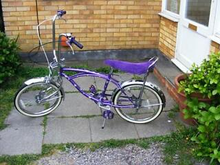 LOWRIDER BIKE -HARDLY USED