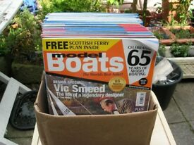 23 Assorted Model Boats Magazines and 19 Marine Modelling Magazines, 2010 to 17