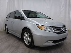 2012 Honda Odyssey Touring Power Doors DVD Leather