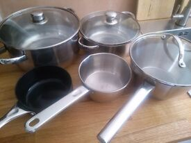 Cooking Pots stainless steel