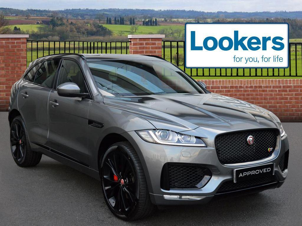 jaguar f pace v6 s awd grey 2017 03 31 in london gumtree. Black Bedroom Furniture Sets. Home Design Ideas