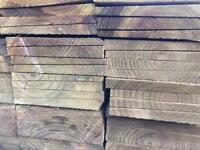 Timber Feather edge / barn cladding 175mm x32mm 4.8m lengths