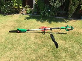 Extendable electric chain saw lopper