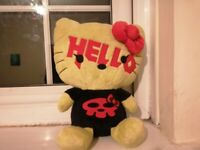 Hello kitty staffed toy