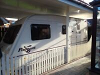 2004 Bailey Pageant Moselle, 4 berth, end bathroom excellent condition incl full dorema awning