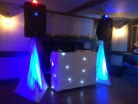 Dj/Equiptment/weddings/christmas/kids/party/barbecue/hens/staggs/christening/ engagement