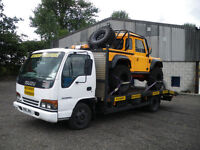 ISUZU NPR 6.2 TON RECOVERY TRUCK, TACHO AND OPERATORS LICENCE EXCEMPT, REDUCED TO £3500