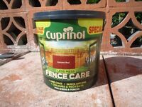 Cuprinol Fence Care - Autumn Red 10 Litres