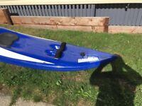 Sit on top wave ski kayak