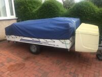 CONWAY CONTINENTAL TRIGANO TRAILER TENT