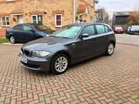 BMW 116i 1.6, FULL SERVICE HISTORY, LOW MILEAGE, LONG MOT, HPI CLEAR
