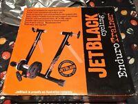 Jet Black Enduro Trainer Cycling turbo trainer