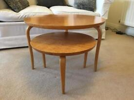 Scandi Style set of tables, design Bruno Mathsson