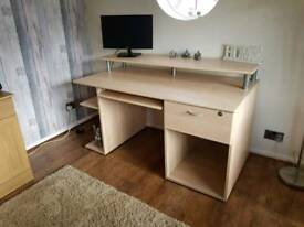 Large Barker and Stonehouse Computer Desk