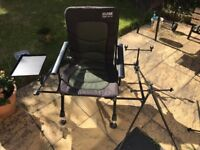 Silstar Fishing Chair station - used £50