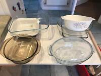 Oven proof dishes