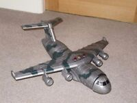 Chad Valley Toy Military Aircraft C17 Plane