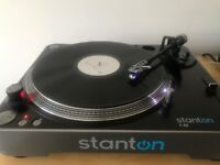 Stanton T 62 direct drive turntable