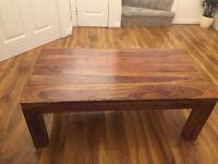 Kerala Wooden Coffee Table L110cm W60cm H40cm